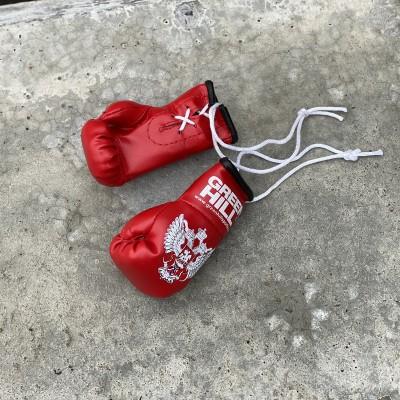 Перчатки Green Hill сувенирные красные ФБР - Сайд-Степ магазин спортивной экипировки