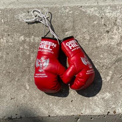 Перчатки Green Hill сувенирные красные ФБР big в наличии в магазине Сайд-Степ