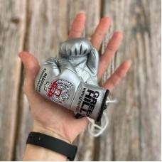 Перчатки Green Hill сувенирные серебристые ФБР