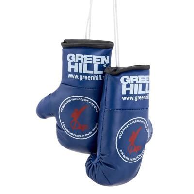 Перчатки Green Hill сувенирные синие ФКР в наличии в магазине Сайд-Степ