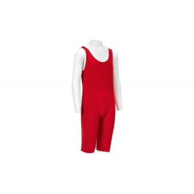 Детское борцовское трико Green Hill красное - Сайд-Степ магазин спортивной экипировки