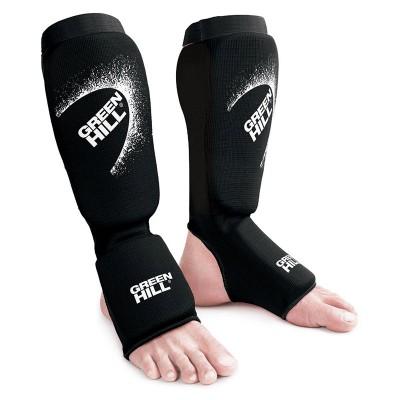 Тканевая защита ног Green hill эластик черная | Сайд-Степ