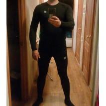 Рашгард Хорт - лидер черной компрессионной одежды