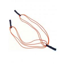 Эспандер лыжника-боксера Indigo 4 жгута красный