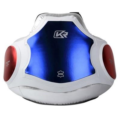Жилет защитный тренерский Kangrui silver/blue/red в наличии в магазине Сайд-Степ