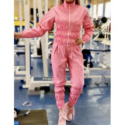 Костюм сауна для похудения розовый - Сайд-Степ магазин спортивной экипировки