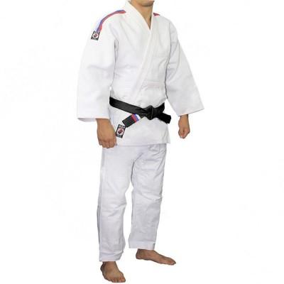 Кимоно для дзюдо Крепыш Я standart белое | Сайд-Степ