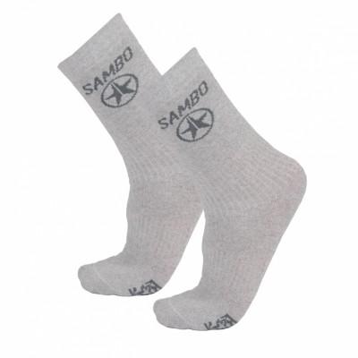 Носки Крепыш Я Самбо five star серые в наличии в магазине Сайд-Степ