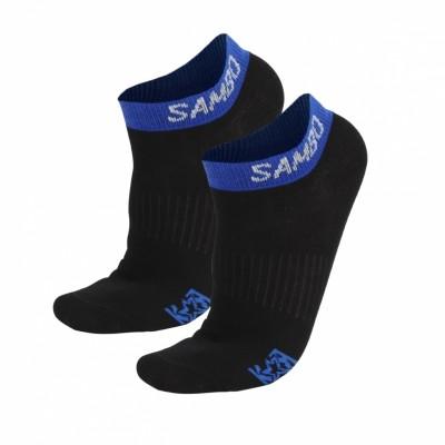 Носки Крепыш Я Самбо summer черно-синие в наличии в магазине Сайд-Степ