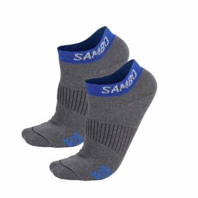Носки Крепыш Я Самбо summer серо-синие в наличии в магазине Сайд-Степ