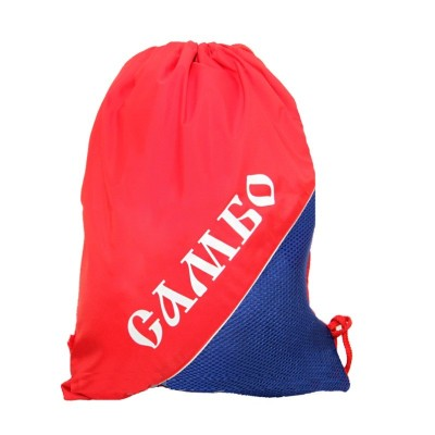 Мешок для обуви САМБО красно-синий - Сайд-Степ магазин спортивной экипировки