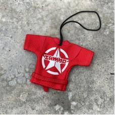Сувенирная куртка Крепыш Я sambo красная