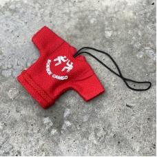 Сувенирная куртка Крепыш Я Боевое самбо красная