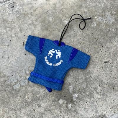 Сувенирная куртка Крепыш Я боевое самбо синяя | Сайд-Степ