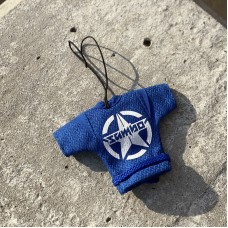Сувенирная куртка Крепыш Я sambo синяя