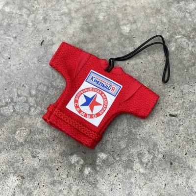 Сувенирная куртка Крепыш Я ВФС красная в наличии в магазине Сайд-Степ