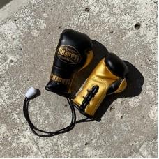 Перчатки Leaders сувенирные черно-золотые