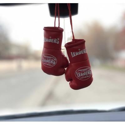 Перчатки Leaders сувенирные красные в наличии в магазине Сайд-Степ