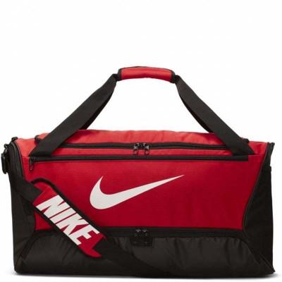 Спортивная сумка Nike brasilia black/red m в наличии в магазине Сайд-Степ