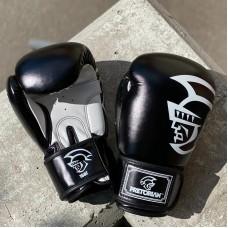 Боксерские перчатки Pretorian черные