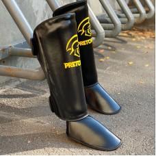 Защита ног Pretorian черная