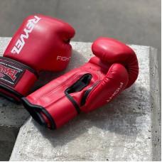 Боксерские перчатки Reyvel fight красные