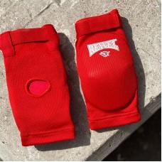 Налокотники для тайского бокса Reyvel красные