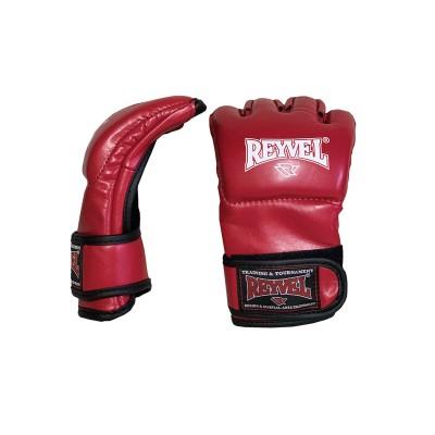 Перчатки ММА Reyvel pro fight красные в наличии в магазине Сайд-Степ