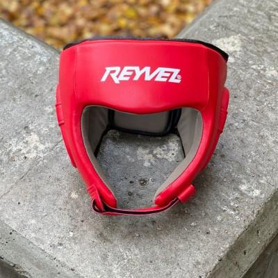 Шлем боксерский Reyvel fight красный в наличии в магазине Сайд-Степ