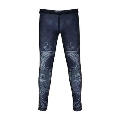 Детские компрессионные штаны Rusco sport black herb - Сайд-Степ магазин спортивной экипировки