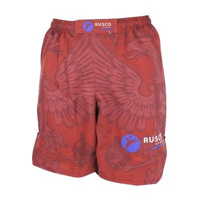Детские шорты ММА Rusco red herb в наличии в магазине Сайд-Степ