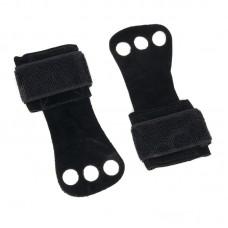 Гимнастические накладки черные (1 слой кожи)
