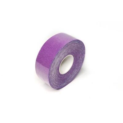 Кинезио тейп фиолетовый 2,5 см - Сайд-Степ магазин спортивной экипировки