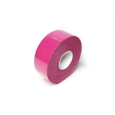 Кинезио тейп розовый 2,5 см - Сайд-Степ магазин спортивной экипировки