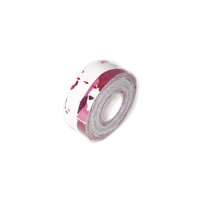 Кинезио тейп розовый камуфляж 2,5 см - Сайд-Степ магазин спортивной экипировки