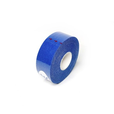 Кинезио тейп синий 2,5 см - Сайд-Степ магазин спортивной экипировки