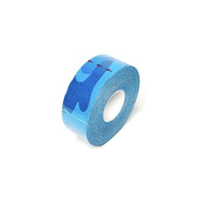 Кинезио тейп синий камуфляж 2,5 см - Сайд-Степ магазин спортивной экипировки