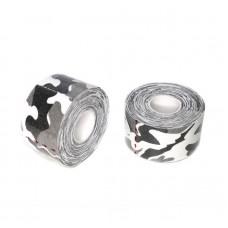 Кинезио тейп черно-белый камуфляж 3,8 см