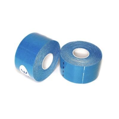 Кинезио тейп голубой 3,8 см - Сайд-Степ магазин спортивной экипировки