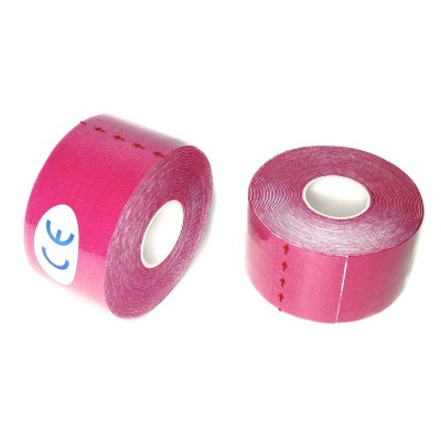 Кинезио тейп розовый 3,8 см - Сайд-Степ магазин спортивной экипировки