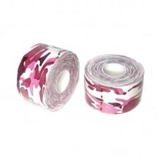 Кинезио тейп розовый камуфляж 3,8 см