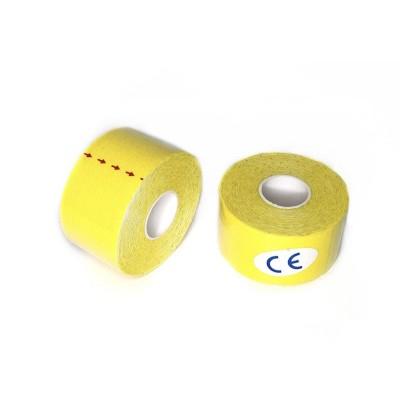 Кинезио тейп желтый 3,8 см - Сайд-Степ магазин спортивной экипировки