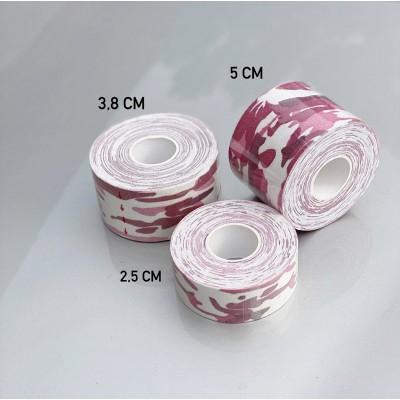 Кинезио тейп розовый камуфляж 5 см - Сайд-Степ магазин спортивной экипировки
