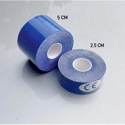 Кинезио тейп синий 5 см | Сайд-Степ