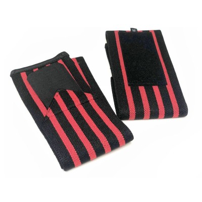 Кистевые бинты черно-красные - Сайд-Степ магазин спортивной экипировки