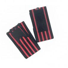 Кистевые бинты черно-красные