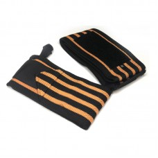 Кистевые бинты черно-оранжевые