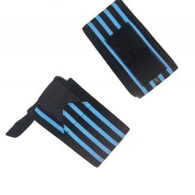 Кистевые бинты черно-синие - Сайд-Степ магазин спортивной экипировки