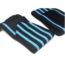 Кистевые бинты черно-синие