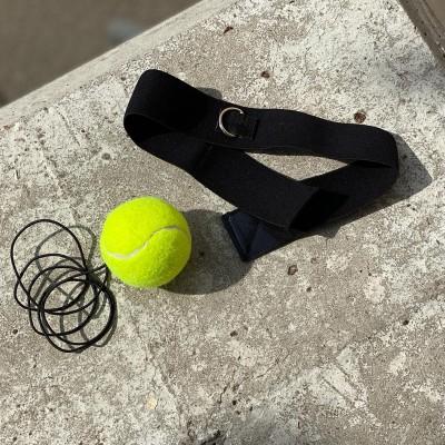 Боксерский мячик на голову с эластичной повязкой в наличии в магазине Сайд-Степ